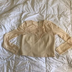 Off white top